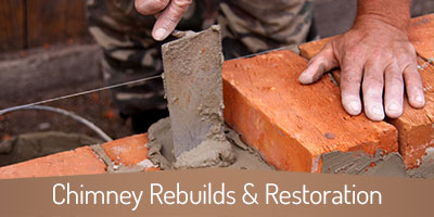 Chimney Rebuilds & Restorations - Atlanta GA - Copper Top Chimney Service