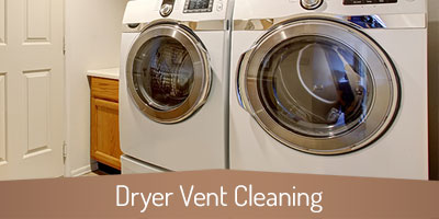Dryer Vent Cleaning - Alpharetta GA - Copper Top Chimney Service